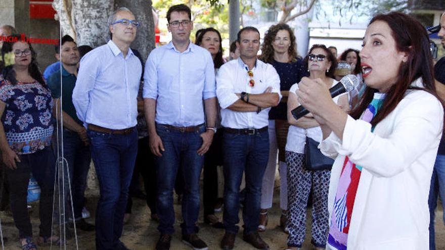Hernández compite en las primarias para que el PSC envíe a CC a la oposición