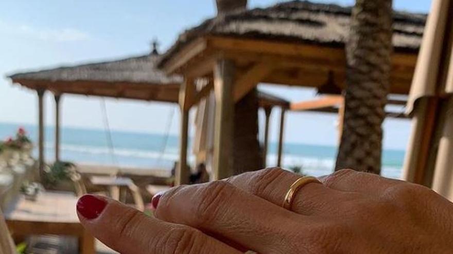 El 'sí, quiero' de Alberto Fabra y Silvia Jato en Castellón