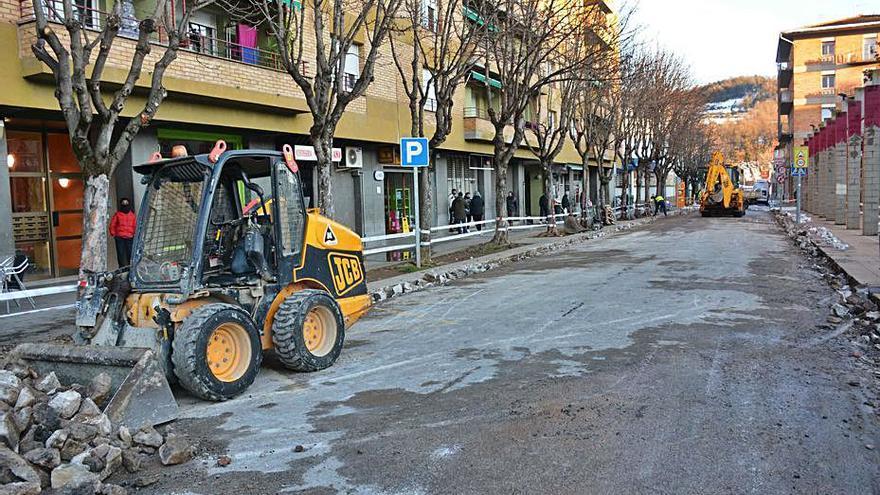 Veïns i PSC d'Olot se sumen a les queixes per la «pacificació del trànsit» a Sant Miquel