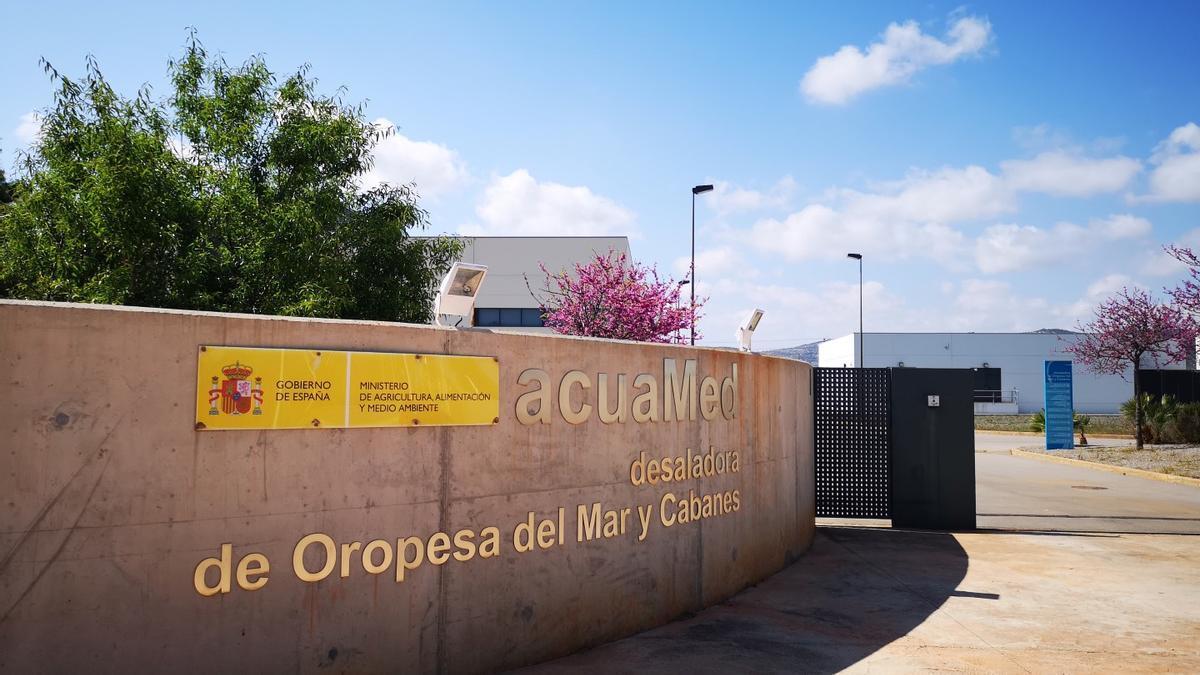 La desaladora de Orpesa podrá suministrar agua desalada a Castelló