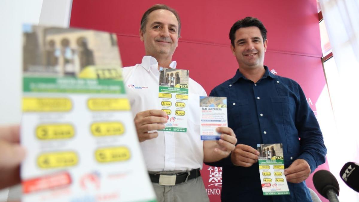 Pedro García muestra el apoyo del gobierno local al sector del taxi ante la llegada de Uber