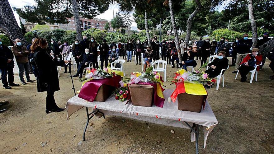 Ontinyent colabora en la búsqueda de fusilados en el cementerio de Paterna
