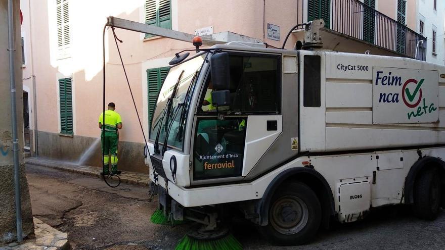 Los trabajadores de la limpieza viaria de Inca desconvocan la huelga