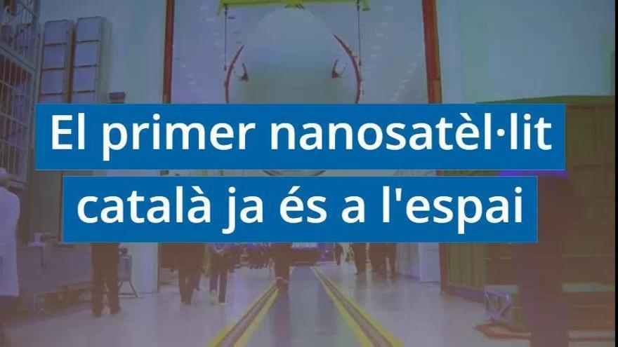 El primer nanosatèl·lit de la Generalitat es posa en òrbita amb èxit des del Kazakhstan