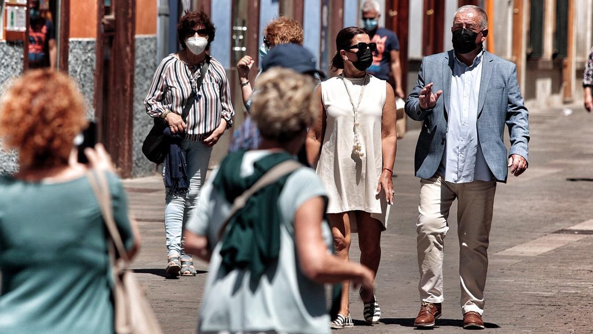 Las temperaturas alcanzarán los 26 grados de máxima este lunes en Tenerife.