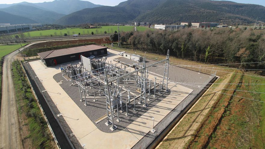 La nova subestació elèctrica de Sant Jaume entrarà en funcionament al maig