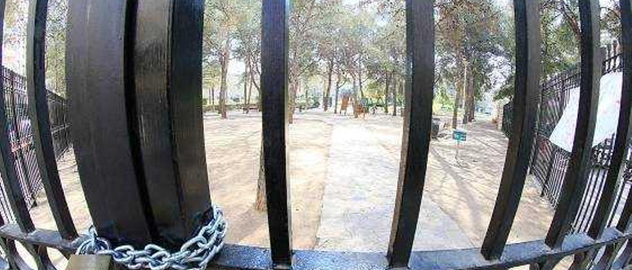 Torró cambia el proyecto del parque de Sant Pere y no pondrá cemento en los accesos