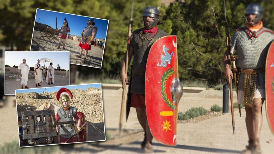La vida de la antigua Roma vuelve al yacimiento alicantino de Lucentum