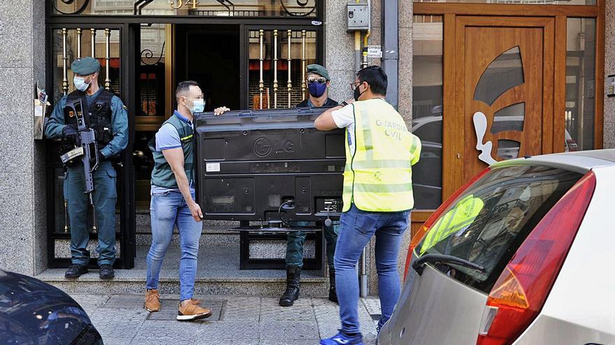Lalín homenajea a la Guardia Civil, que intervino en 50 operativos contra grupos criminales