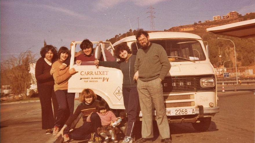 La família que va posar música en la «batalla de València»