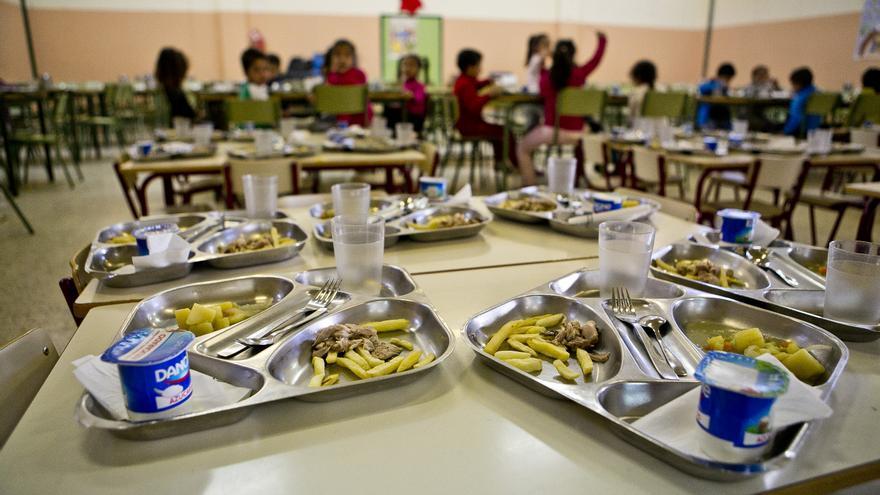 Los comedores escolares generan 400 toneladas de residuos orgánicos
