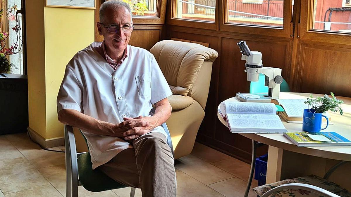 El farmacèutic i biòleg cerdà, Joan Muntané   ARXIU PARTICULAR