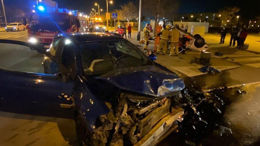 Flucht nach Unfall in Palma: Polizei sucht nach dem Fahrer