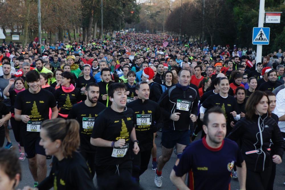 La San Silvestre de Gijón, récord de participación