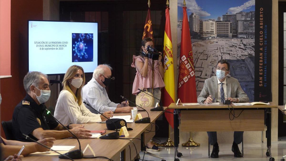 Murcia refuerza la vigilancia en cuarentenas y botellones