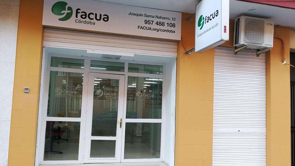 Sede de Facua en Córdoba.