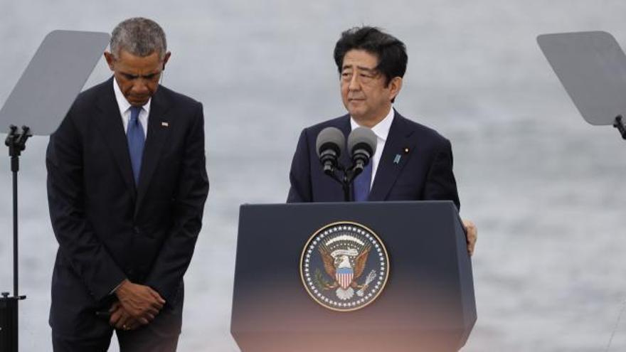 """Abe: """"No debemos repetir los horrores de la guerra"""""""