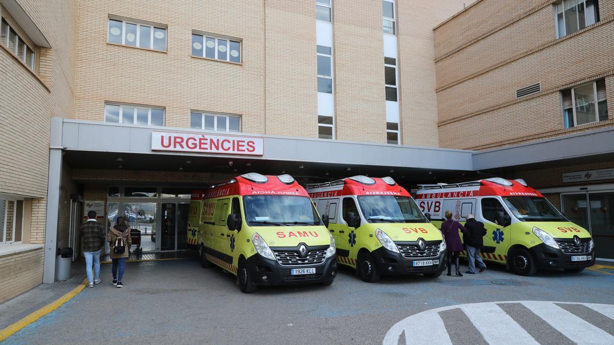 Fachada del Hospital General de Castellón.