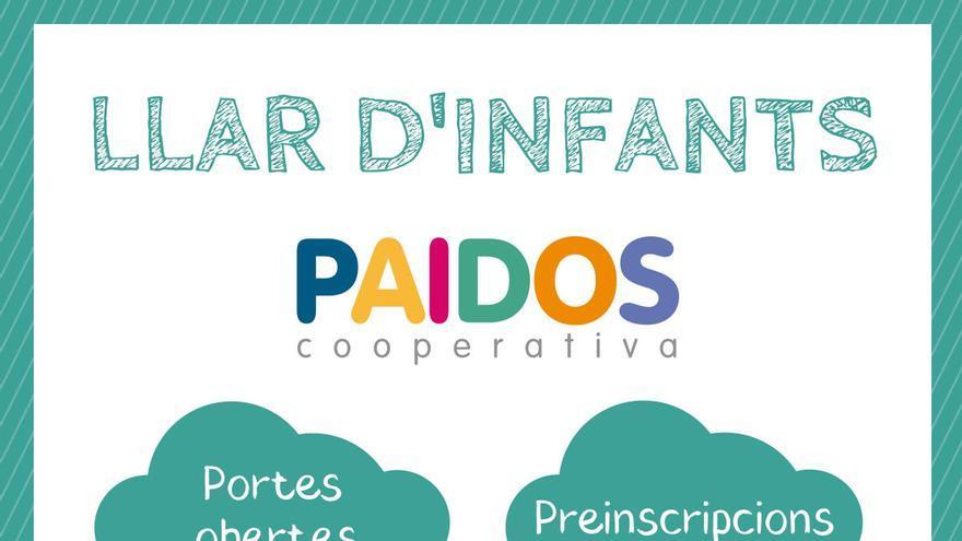 L'Escola Paidos celebra dissabte la Jornada de Portes Obertes de la Llar d'infants