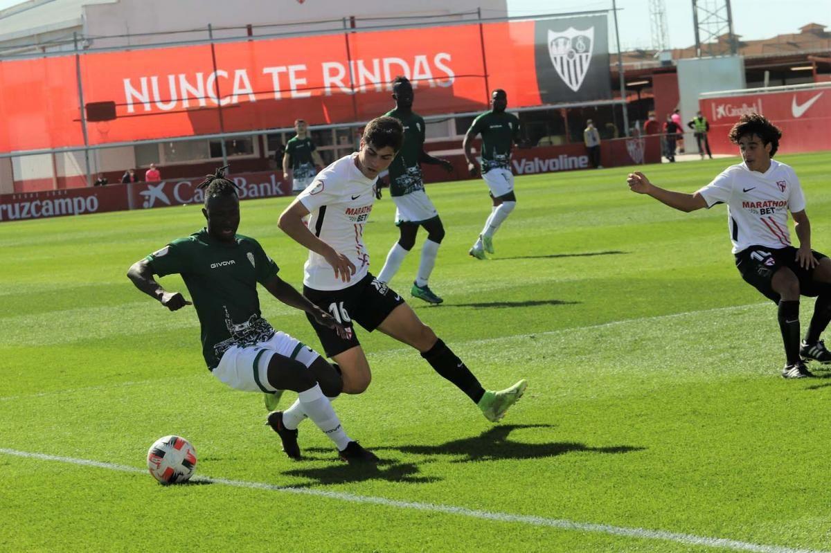 Las imágenes del Sevilla Atlético-Córdoba CF