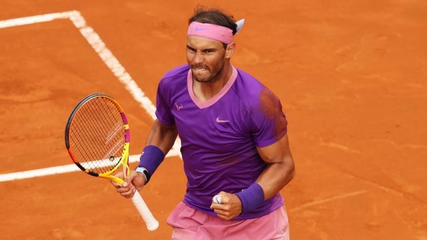 Nadal coincide en el cuadro de Federer y Djokovic en Roland Garros