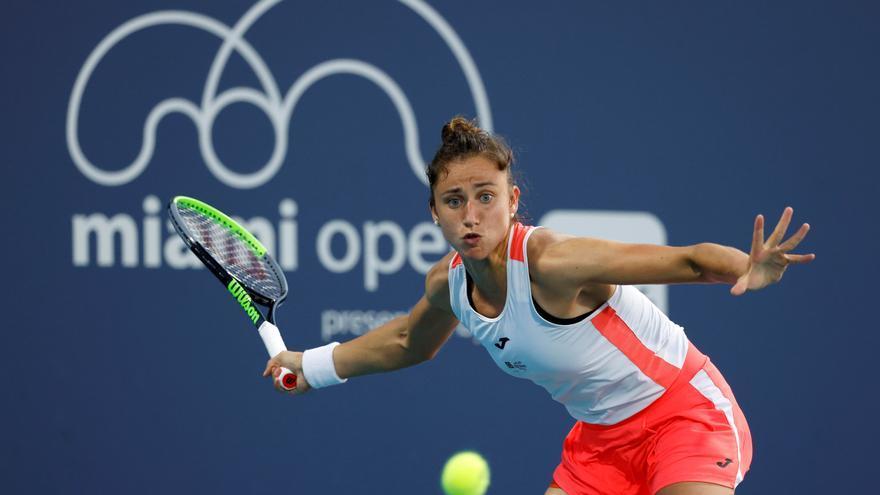 Sara Sorribes alcanza los cuartos de final en el Torneo de Miami