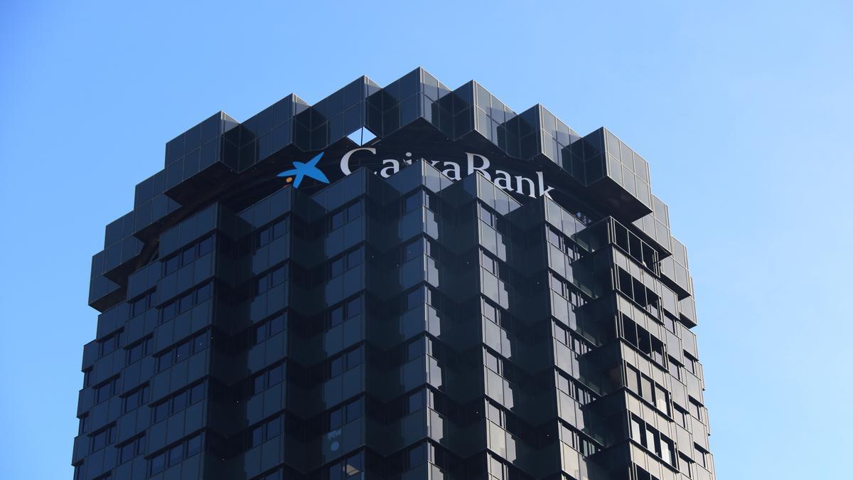 La seu operativa de CaixaBank, situada a l'avinguda Diagonal de Barcelona.