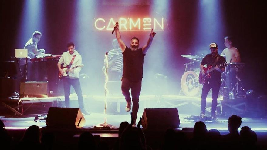 Carmen 113 contagia la seva energia