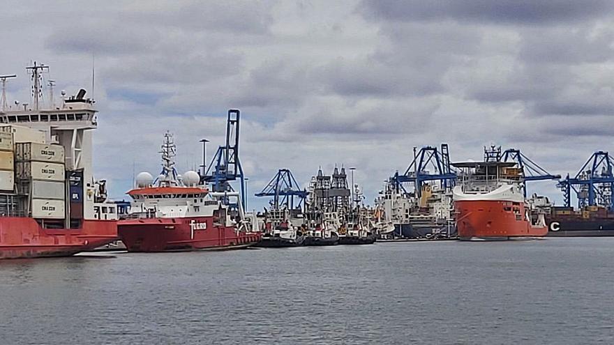 Hallan unos 1.200 kilos de cocaína en un barco de millo en el Puerto de la Luz