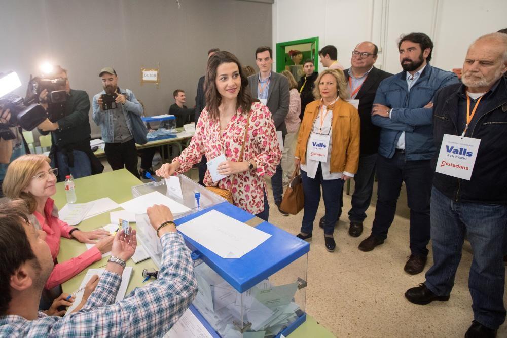 Votaciones en las elecciones del 26M