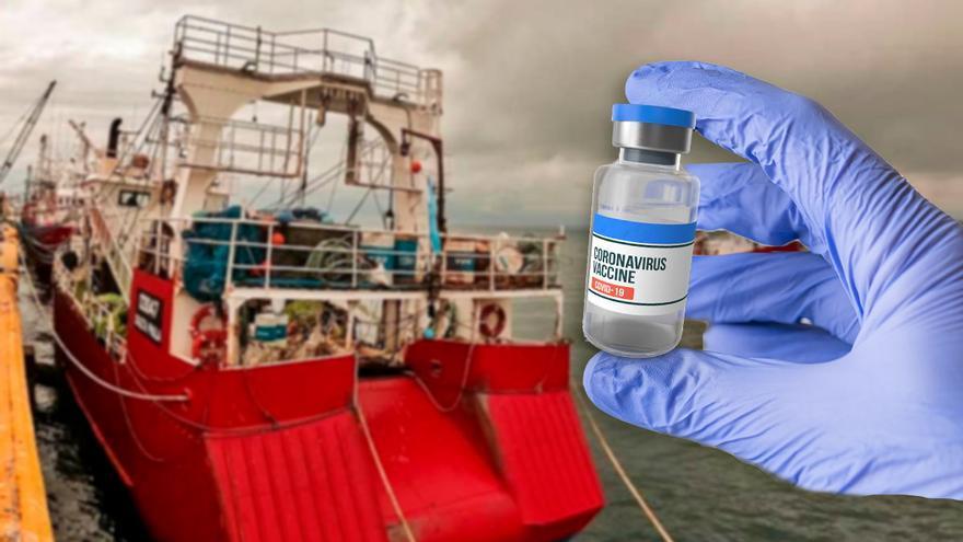 """La flota gallega en Argentina sale a la mar sin la tripulación vacunada: """"No hay dosis"""""""
