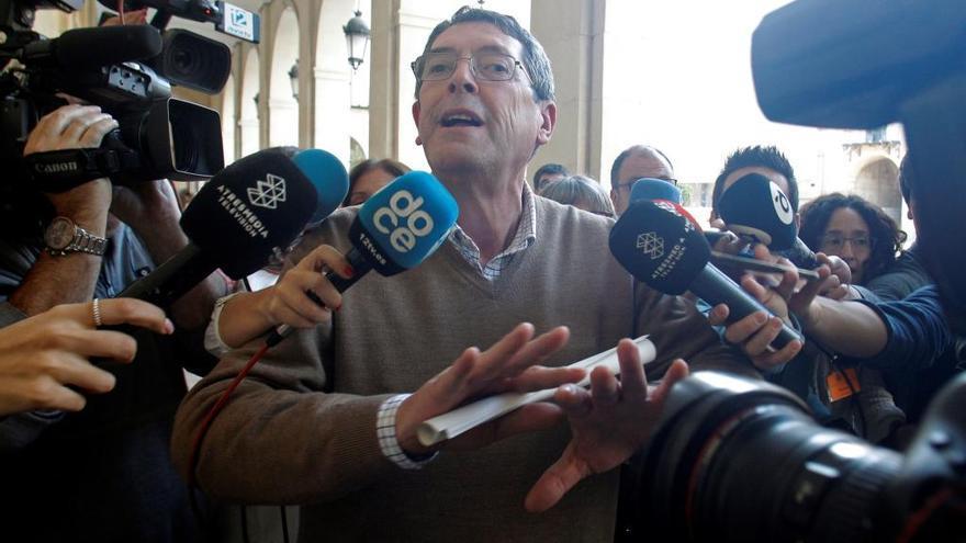 El jurado absuelve a  los siete acusados del asesinato del alcalde de Polop