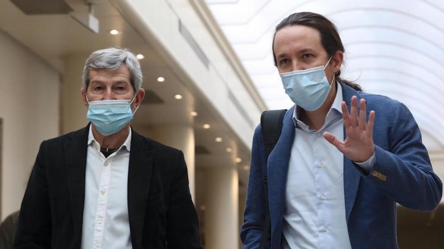 """Iglesias: """"El veto es como no convocar elecciones"""""""