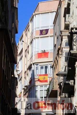 Viernes de dolores: Aplausos y salves a la patrona en Cartagena durante el confinamiento