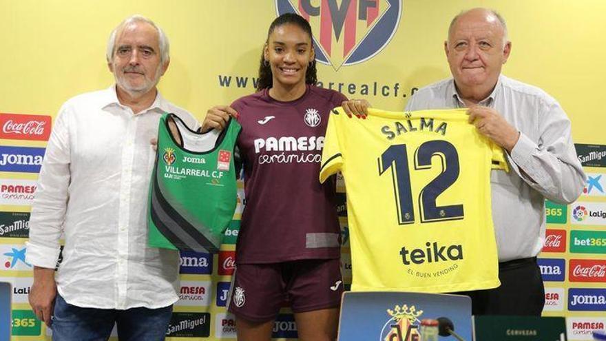 """Salma Paralluelo: """"Mientras pueda, voy a compaginar fútbol y atletismo"""""""