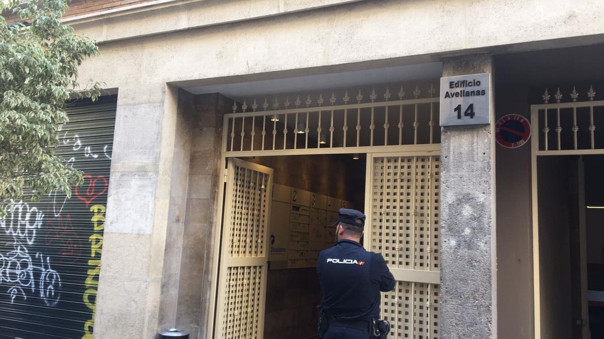 La sede de Divalterar en una operación policial anterior.