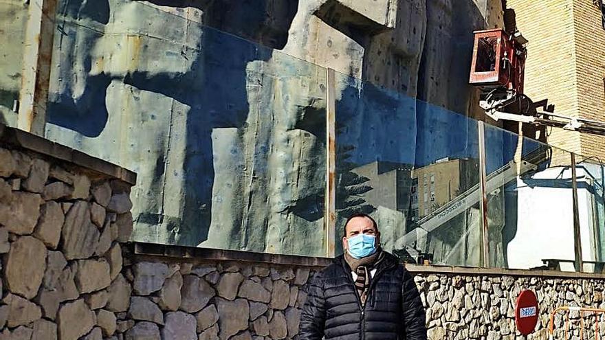 Crevillent rehabilita el rocódromo de la Rambla para volver a darle uso en dos meses