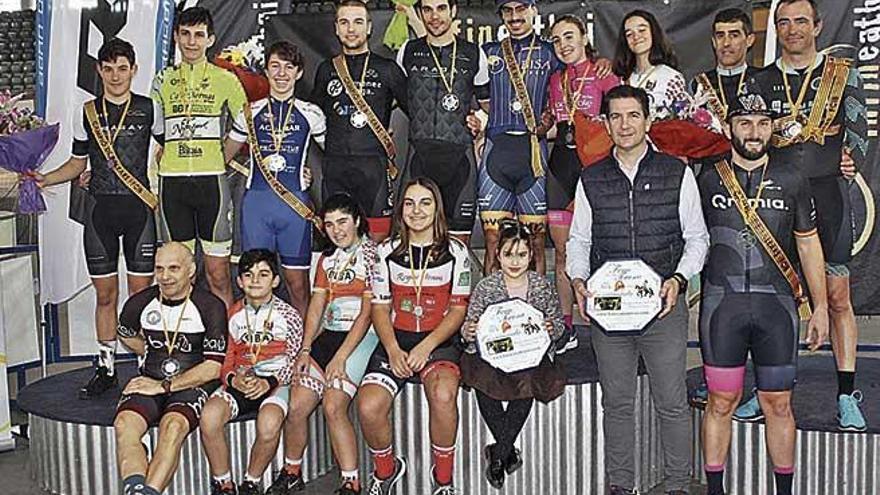 Llorenç Tomàs se proclama campeón de Balears absoluto de ómnium