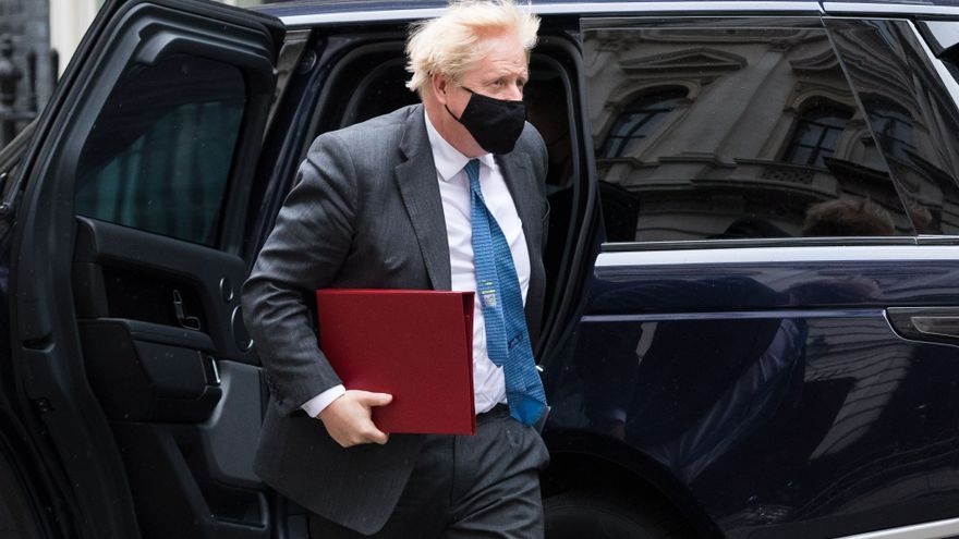 Boris Johnson resta importancia a la controvertida reforma de Downing Street