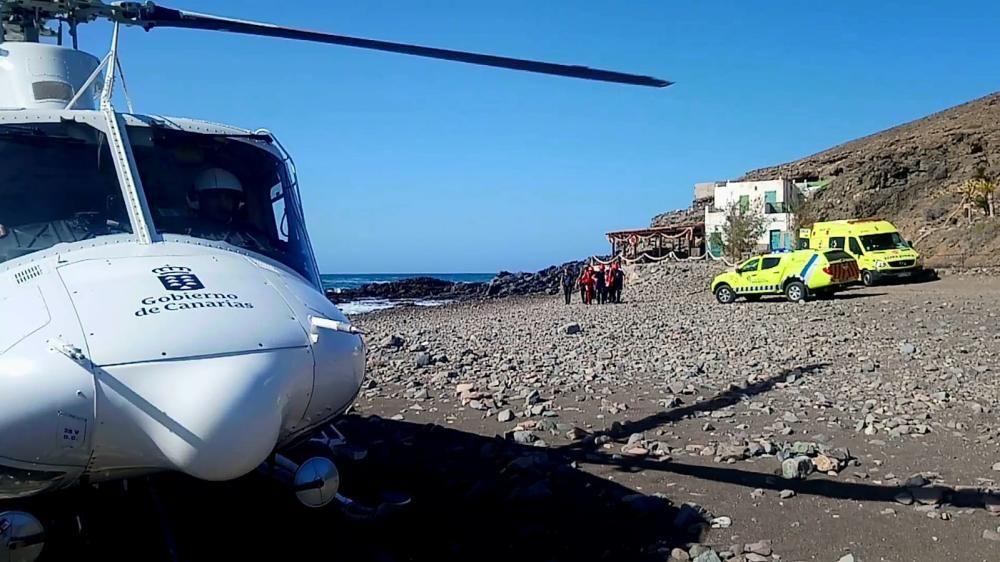 Dos hombres mueren al caer al mar en Fuerteventura