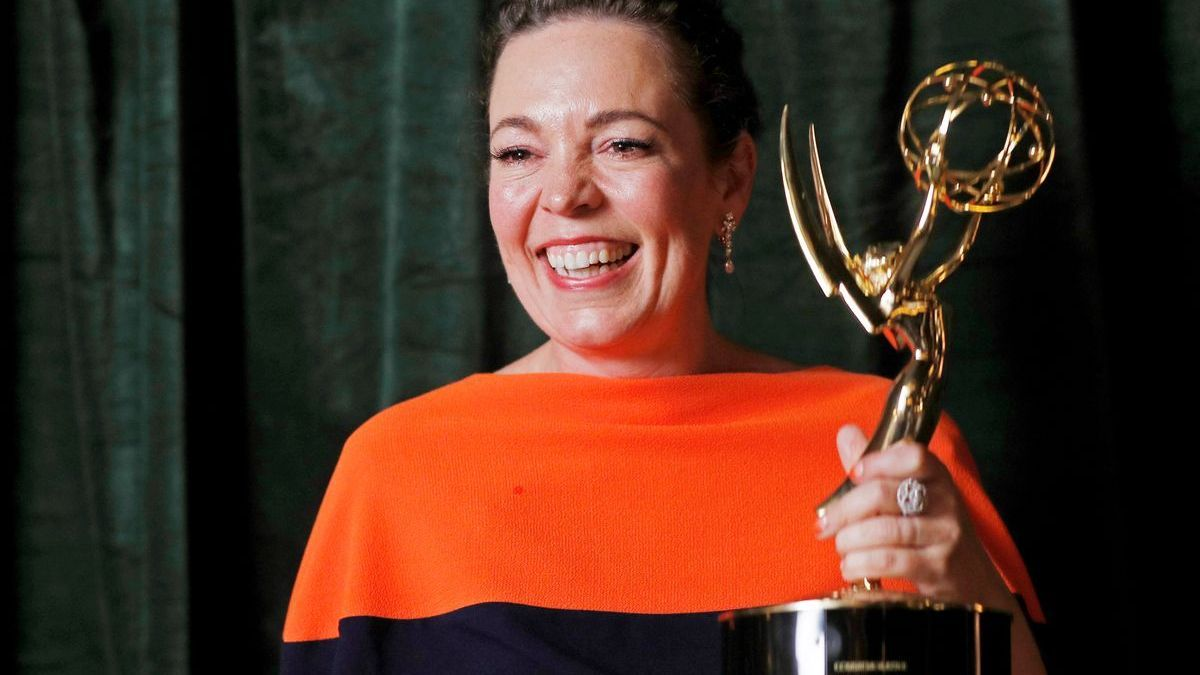 Olivia Colman, premio Emmy de interpretación por The Crown.