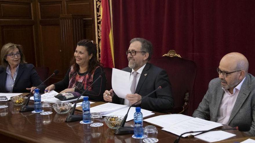La Diputación de Castellón aprueba una operación financiera para añadir 5,6 millones a las cuentas del 2020