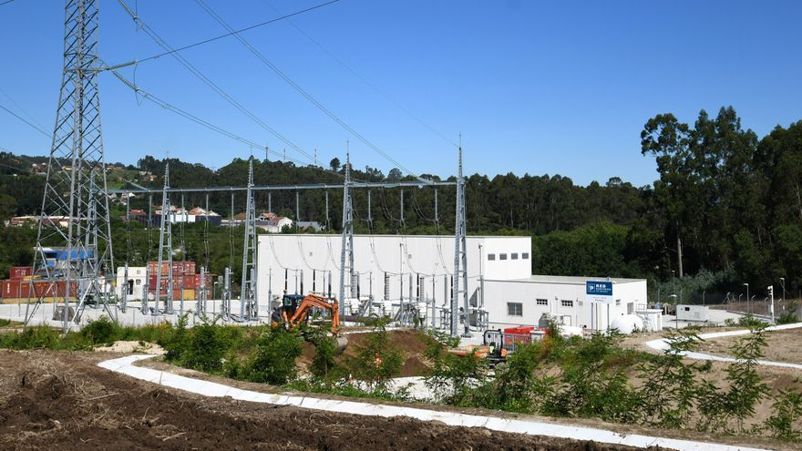 Vilaboa negocia con Red Eléctrica cambios en la subestación de Bértola