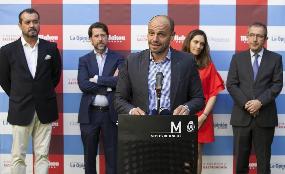 Presentación de los nominados a los Premios Mahou-LaProvincia-La Opinión de Tenerife de Gastronomía