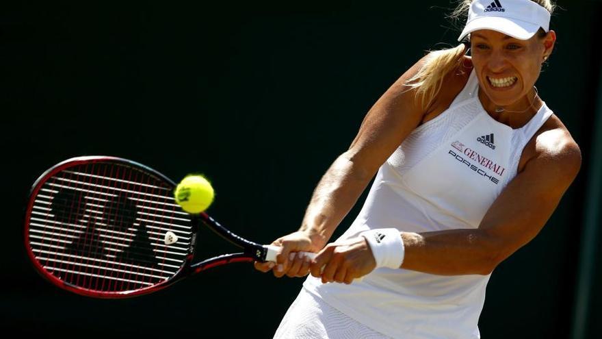 Muguruza supera a Kerber y pasa a cuartos en Wimbledon