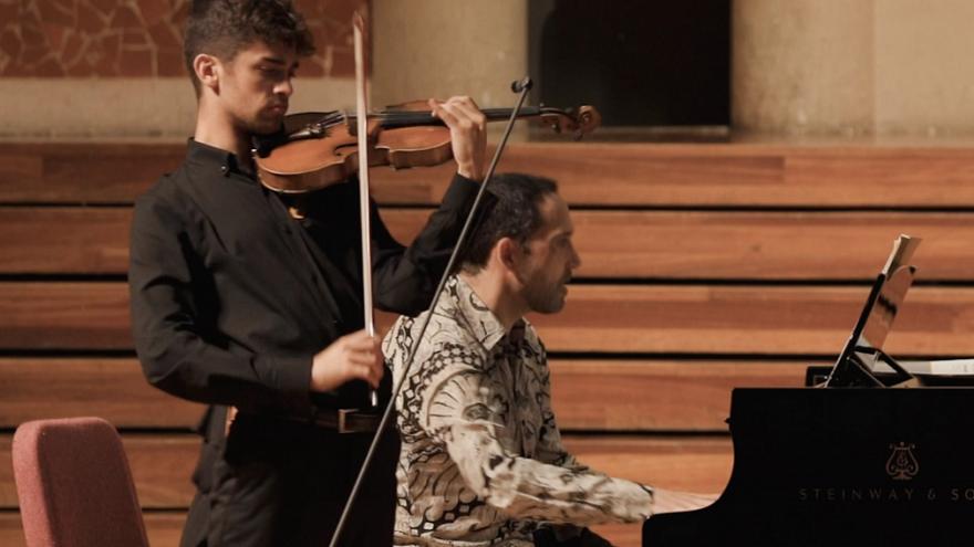Concert de Violí i Piano. Miquel Muñiz + Lluís Rodríguez