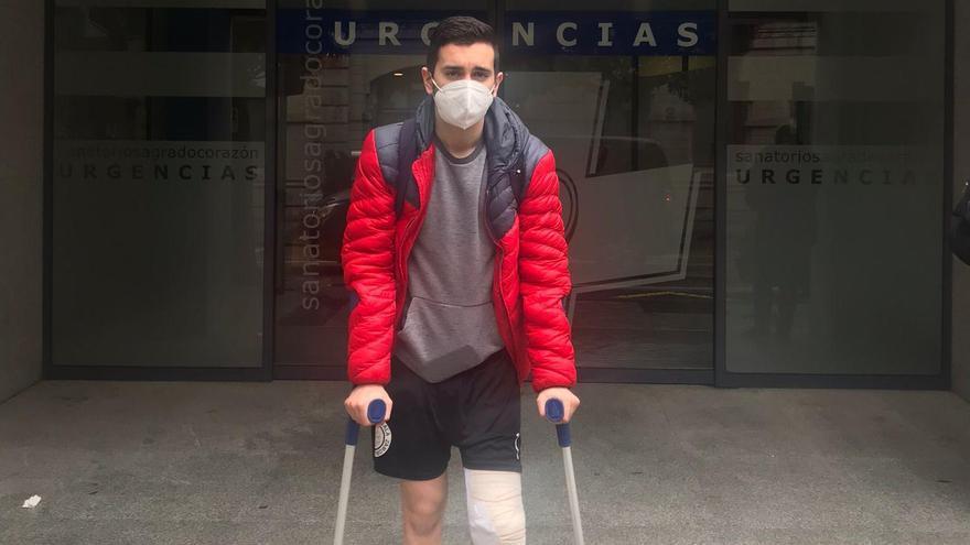 Pablo García, del InterSala Euronics, pasa por el quirófano
