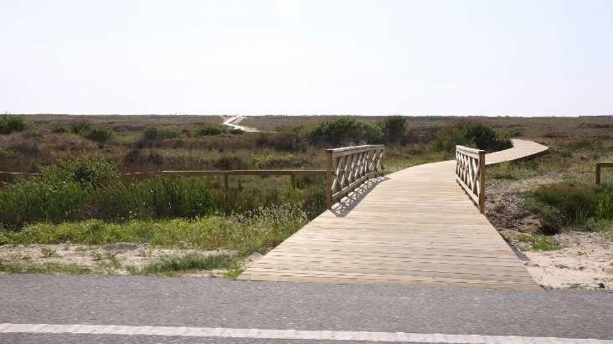 La Xunta licita la obra de la senda peatonal entre A Lanzada y Major
