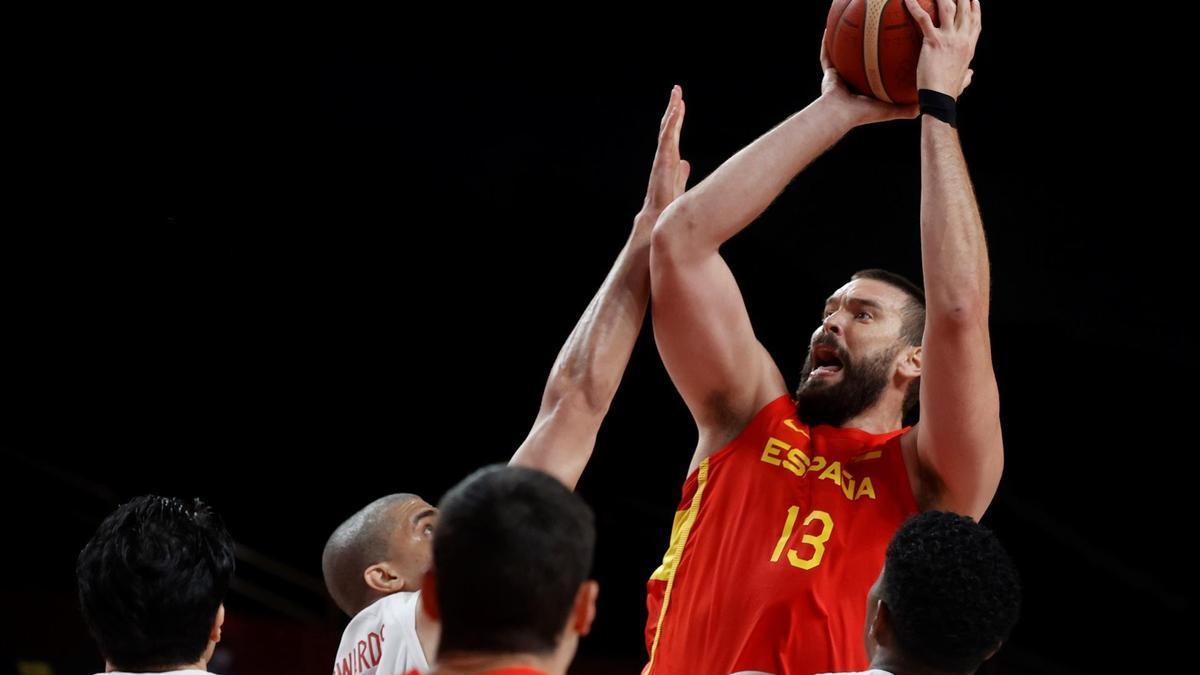 La selección española de baloncesto se mide a Argentina desde las 14 horas.