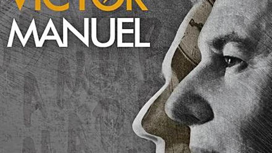 Víctor Manuel 'vuelve a cantarlo' el día 3 de julio